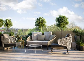 Thumbnail 3 bed flat for sale in Dalmeny Avenue, London