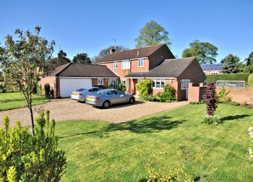 Thumbnail 4 bed detached house for sale in Hall Orchards, Middleton, King's Lynn