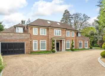 Thumbnail 6 bed detached house for sale in Percival Close, Oxshott, Leatherhead, Surrey