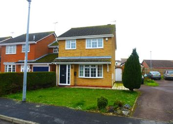 Thumbnail 3 bed detached house to rent in Ireton Way, March