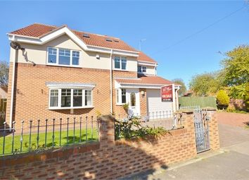 Thumbnail 5 bed detached house for sale in Queen Alexandra Road, Grangetown, Sunderland