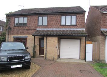 Thumbnail 4 bed detached house for sale in Kingfishers, Peterborough