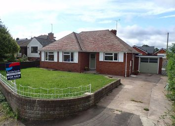 Thumbnail 3 bed detached bungalow for sale in Poplar Road, Clehonger, Hereford