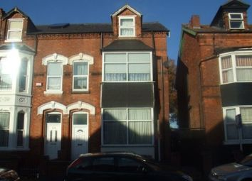 Thumbnail Studio to rent in Gillott Road, Edgbaston, Birmingham