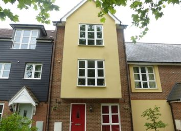Thumbnail 4 bedroom town house for sale in Stadium Approach, Aylesbury