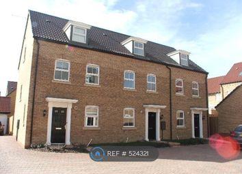 Thumbnail 3 bedroom terraced house to rent in Vars Road, Peterborough
