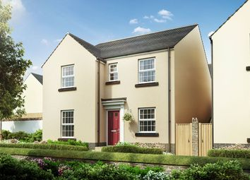 """Thumbnail 4 bed detached house for sale in """"The Radford"""" at The Rocklands, Chudleigh, Newton Abbot"""