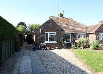 Thumbnail 2 bed semi-detached bungalow for sale in Harwood Avenue, Goring By Sea, Worthing