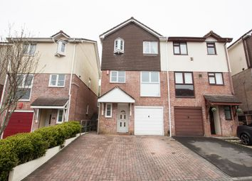 Thumbnail 3 bedroom semi-detached house for sale in Holne Chase, Plymouth