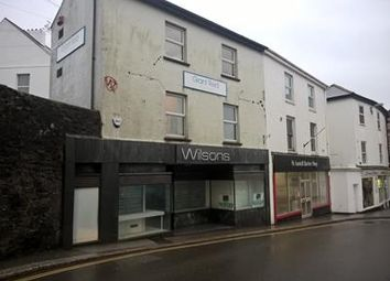 Thumbnail Retail premises for sale in 10 Bodmin Road, St. Austell, Cornwall
