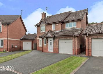 Thumbnail 4 bed detached house for sale in Bradman Drive, Chester Le Street, Durham