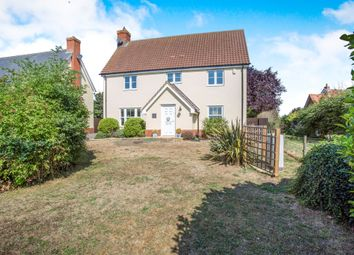 Thumbnail 4 bed detached house for sale in Mill Close, Wortham, Diss