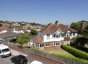 Thumbnail 4 bed semi-detached house for sale in Laura Avenue, Paignton