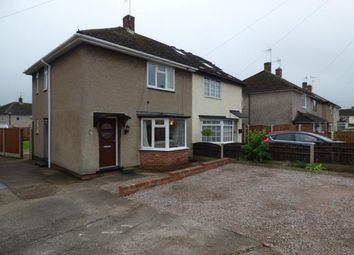 Thumbnail 2 bed semi-detached house for sale in Fritchley Close, Chaddesden, Derby, Derbyshire