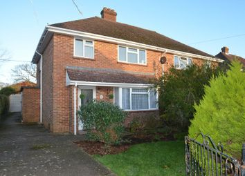 Thumbnail 3 bed semi-detached house to rent in Corbin Road, Pennington, Lymington