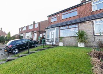 Thumbnail 3 bed semi-detached house for sale in Higher Turf Park, Oldham, Greater Manchester