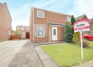 Thumbnail 2 bed semi-detached house for sale in Sookholme Road, Shirebrook, Nottinghamshire