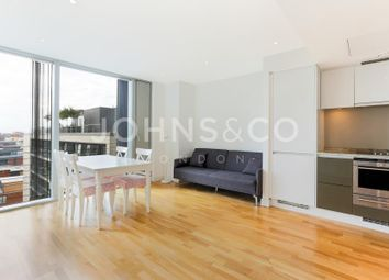 Thumbnail 1 bed flat to rent in Landmark West Tower, Marsh Wall