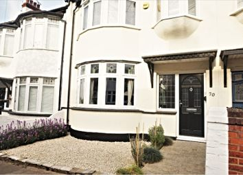 Thumbnail 3 bed terraced house for sale in Woodfield Park Drive, Leigh-On-Sea