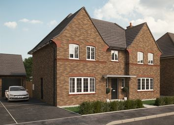 "Thumbnail 4 bed detached house for sale in ""The Woburn "" at Park Crescent, Stewartby, Bedford"