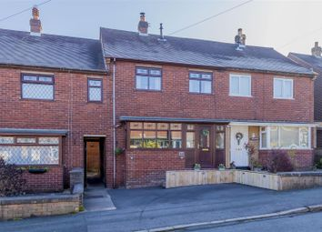 Thumbnail 2 bed town house for sale in Fair View Road, Leek, Staffordshire