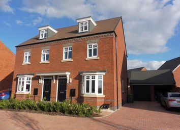 Thumbnail 3 bedroom town house to rent in Bayswater Square, Stafford