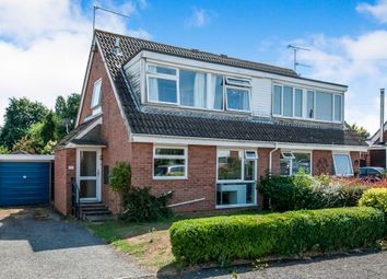 Thumbnail 3 bed semi-detached house for sale in Northfield Road, Onehouse, Stowmarket