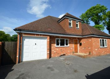 Thumbnail 3 bed detached house for sale in Mytchett Road, Mytchett, Camberley, Surrey