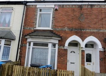 Thumbnail 2 bed terraced house to rent in Thoresby Street, Hull