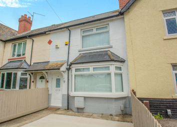 Thumbnail 2 bedroom terraced house for sale in Clydesmuir Road, Splott, Cardiff