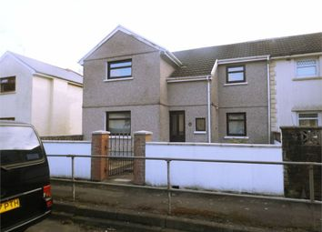 Thumbnail 4 bed semi-detached house for sale in Trefelin Crescent, Port Talbot, West Glamorgan