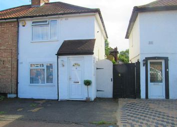 Thumbnail 2 bed semi-detached house for sale in Culvers Avenue, Carshalton, Surrey
