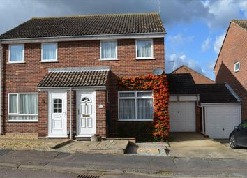 Thumbnail 2 bed semi-detached house for sale in Greengage Rise, Melbourn, Royston