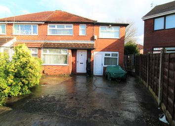 Thumbnail 4 bed semi-detached house for sale in Annable Road, Abbey Hey, Manchester