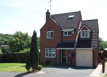 Thumbnail 4 bed detached house for sale in Woodlea Grove, Little Eaton, Derby