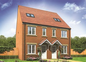 "Thumbnail 3 bed semi-detached house for sale in ""The Bickleigh"" at Gower View Road, Gorseinon, Swansea"