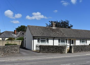 Thumbnail 2 bed semi-detached bungalow for sale in Thornhill Road, Stalbridge, Sturminster Newton