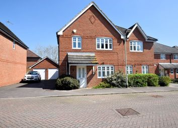 Thumbnail 3 bed semi-detached house to rent in Skylark Way, Shinfield
