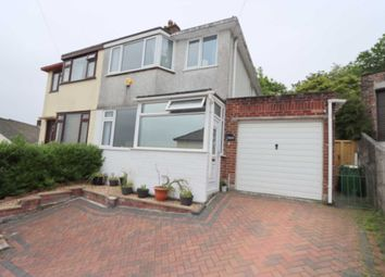 Thumbnail 3 bed semi-detached house for sale in Amados Drive, Plymouth