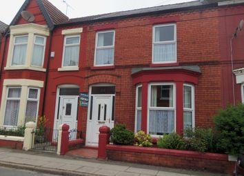 Thumbnail 3 bed terraced house for sale in Crawford Avenue, Mossley Hill, Liverpool