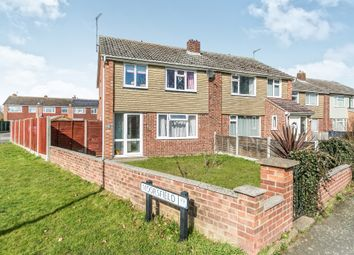 Thumbnail 3 bed semi-detached house for sale in Moorsfield, Great Cornard, Sudbury