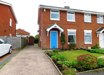 Thumbnail 3 bed semi-detached house for sale in St. Lawrence Way, Gnosall, Stafford