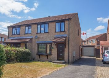 Thumbnail 3 bed semi-detached house for sale in Beaufort Close, Lincoln