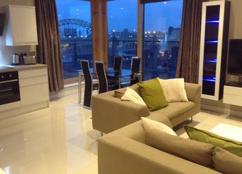 Thumbnail 2 bed flat to rent in Penthouse Apartment, Quayside Lofts, Clavering Place, Newcastle Upon Tyne