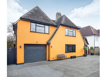 Thumbnail 5 bed detached house for sale in Cassiobury Drive, Watford