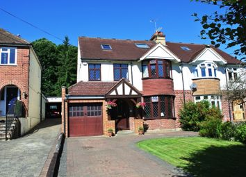 Thumbnail 4 bed semi-detached house for sale in Upper Spring Lane, Ightham