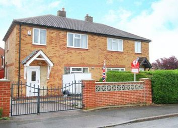 Thumbnail 3 bed semi-detached house for sale in Rowan Road, Eckington, Sheffield, Derbyshire
