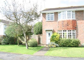 Thumbnail 3 bed property to rent in Merryfield Crescent, Angmering, Littlehampton