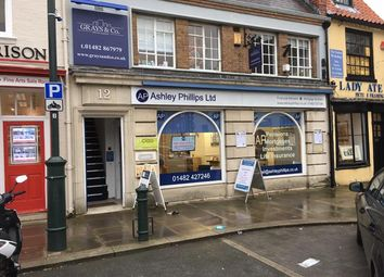 Thumbnail Retail premises to let in Ground Floor And Basement, 12, Saturday Market, Beverley, East Yorkshire