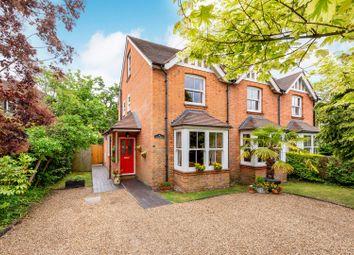 Thumbnail 4 bed semi-detached house for sale in Steels Lane, Oxshott, Leatherhead